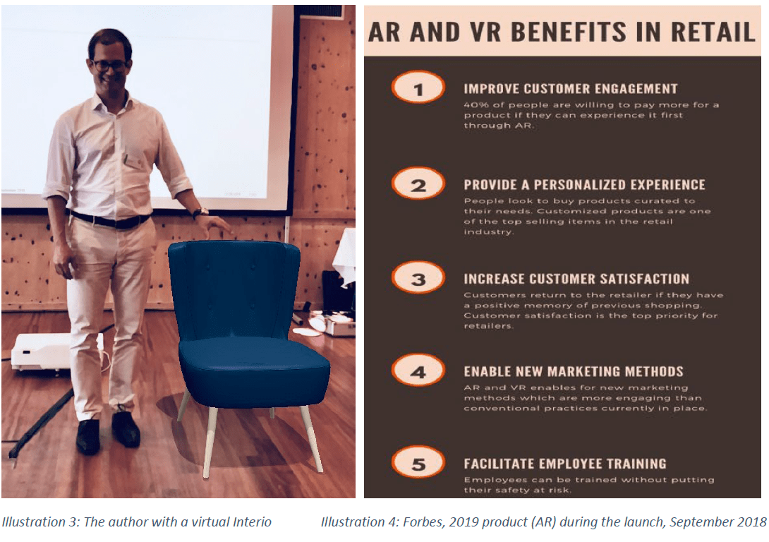 AR and VR Benefits in Retail